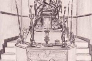 Balinese Ganesh Temple (sketch)