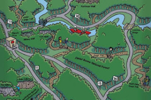 This Month's Map Illustration: Red River Gorge