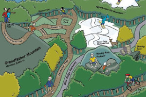 Latest Cartoon Maps for Blue Ridge Outdoors