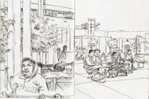 Travel Sketches: India and Bali