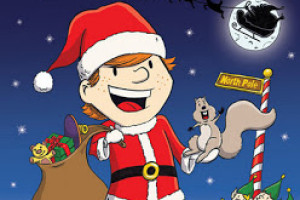 Santa Boy book illustrations