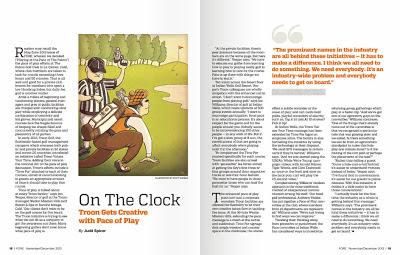 Fore Magazine Southern California Golf Association Scott DuBar