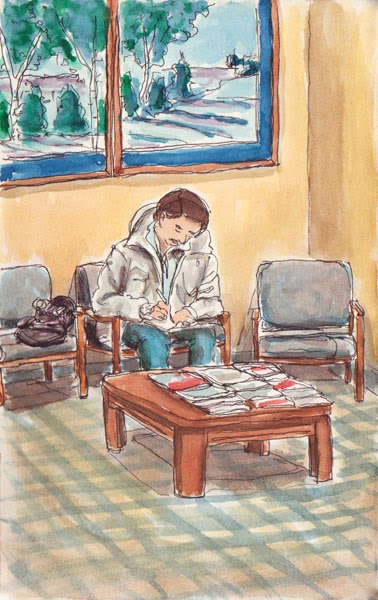 Waiting Room by Scott DuBar