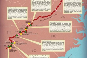 Blue Ridge Outdoors: Appalachian Trail Map