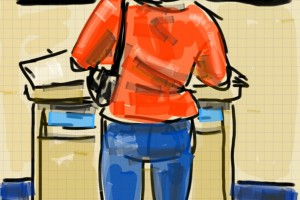 Smartphone Sketching