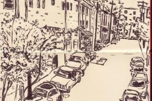 Urban Sketching On Water Street