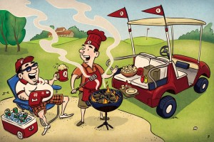 Tee Time and Tailgating