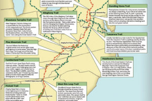 Latest Map: The Great Eastern Trail