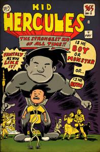 Kid Hercules 365 Drawing Challenge