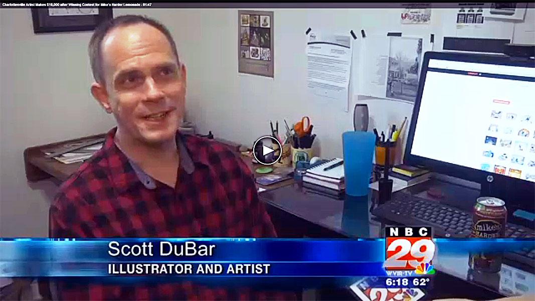 Scott DuBar on NBC29 News
