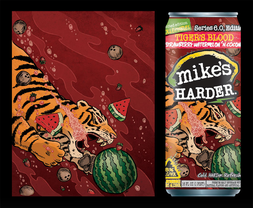 Underwater Tiger | Client: Mike's HARDER