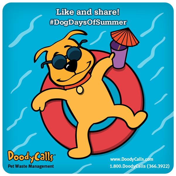 #DogDaysOfSummer   Client: DoodyCalls.com