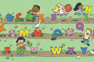 Alphabet Garden Harvest