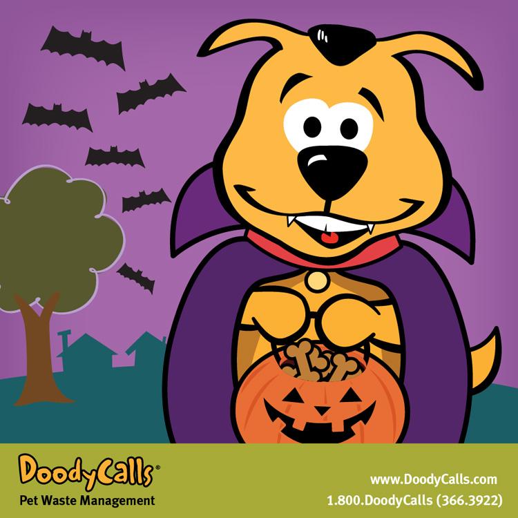 Howl-o-ween | Client: DoodyCalls