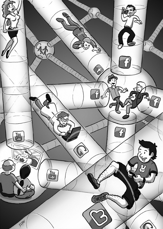 Illustration Friday | Internet