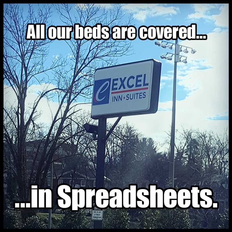 The Beds At Excel Inn