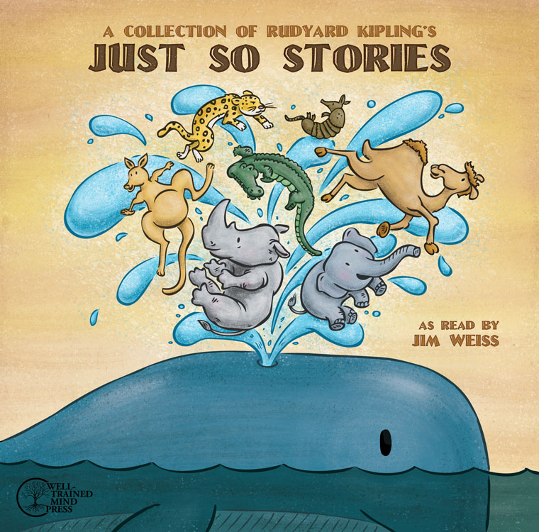 Just So Stories cover illustration | Client: Well Trained Mind Press