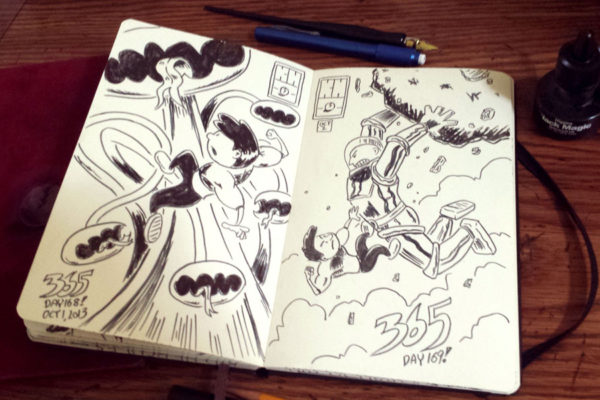 Kid Hercules 365 Drawing Challenge: Book 2