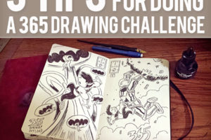 5 Tips For Completing A 365 Drawing Challenge