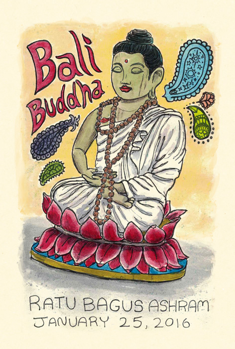Scott DuBar | Bali sketchbook |