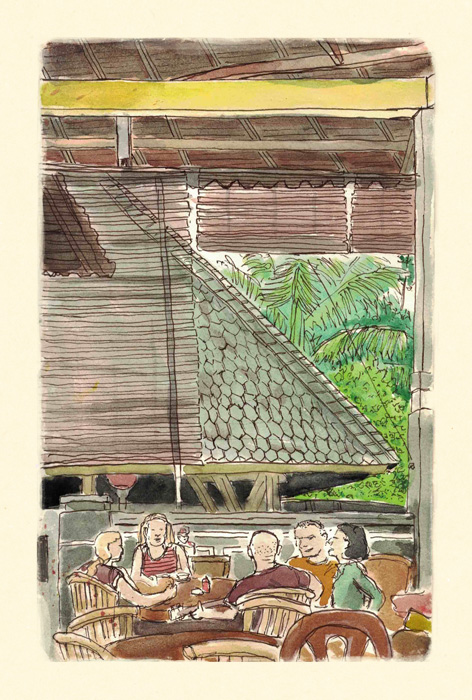 Scott-DuBar-Bali-restaurant-sketch