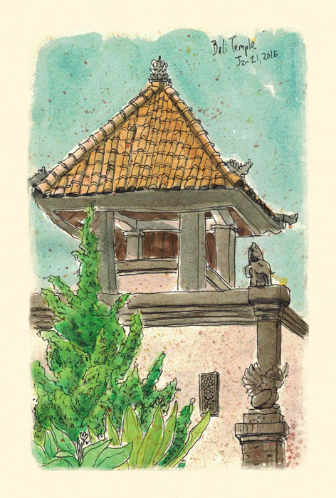 Scott-DuBar-Bali-temple-sketch
