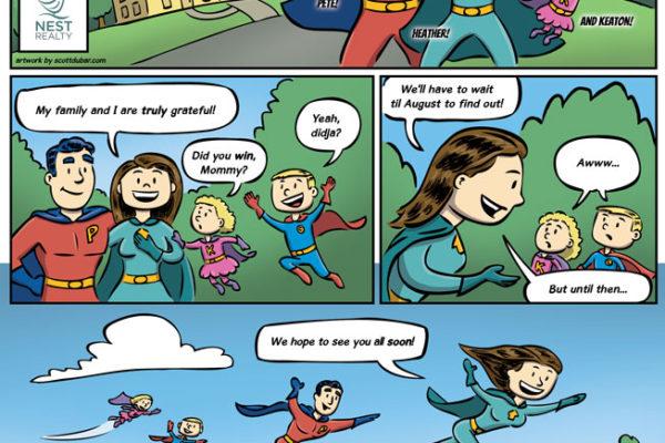 The Adventures of Heather Griffith, Wonder Realtor pt 5 by illustrator Scott DuBar