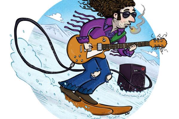 Mountain Music illustration by Scott DuBar