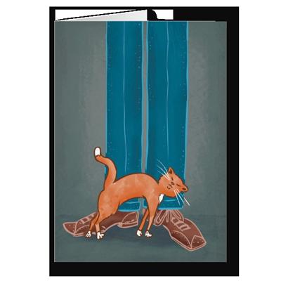 Pet Me! greeting card by illustrator Scott DuBar