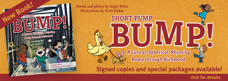 Signed copies of Short Pump Bump available from illustrator Scott DuBar