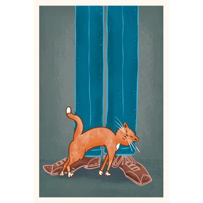 Pet Me! art print by illustrator Scott DuBar