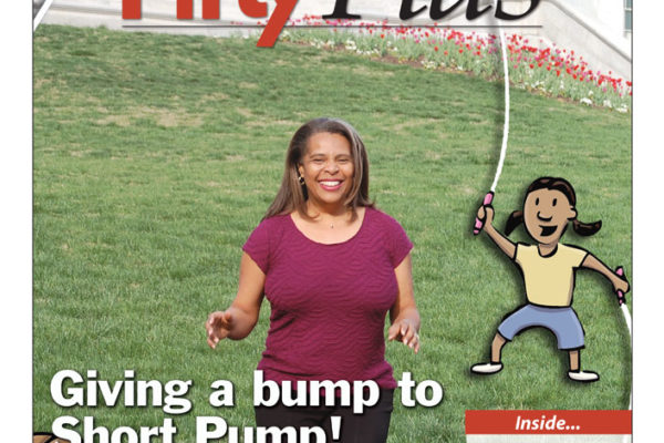 Short Pump Bump featured in Fifty Plus (cover)