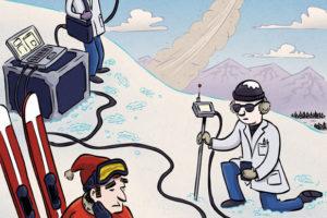Ski Bane | Client: Ascent | illustration by Scott DuBar