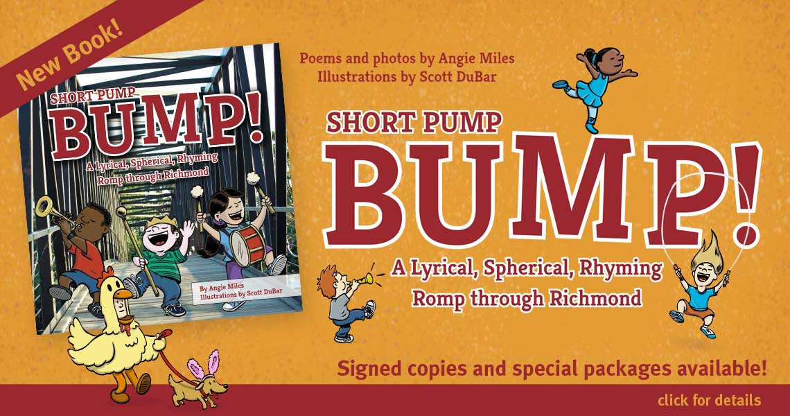 Short Pump Bump illustrated by Scott DuBar