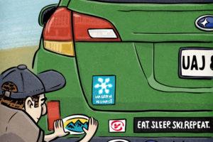 Outdoor Gear Stickers | Utah Adventure Journal