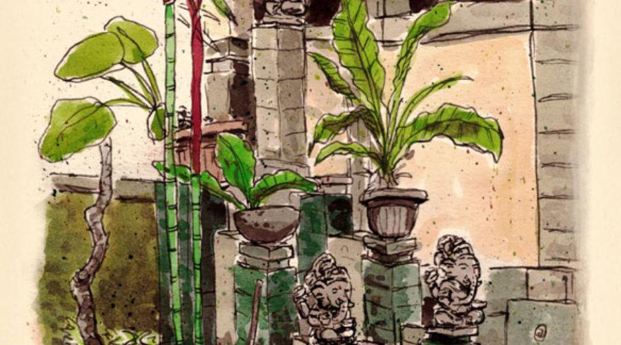 Three Ganeshas | Sketchbook