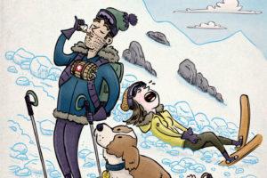 An Unhelpful Saint Bernard | Ascent