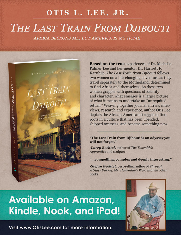 Flyer for The Last Train From Djibouti. Graphic design by Scott DuBar.