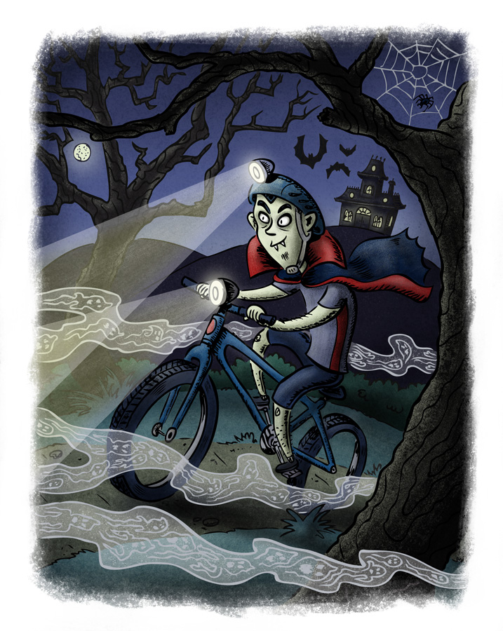Night Riders of Utahvania. Illustration by Scott DuBar.