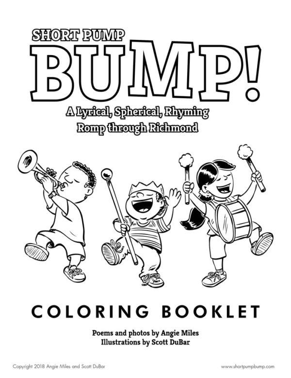 Short Pump Bump! Coloring Booklet