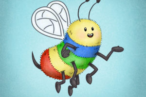Rainbow Bee | SPARK Publications