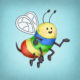 Rainbow Bee | SPARK Publications